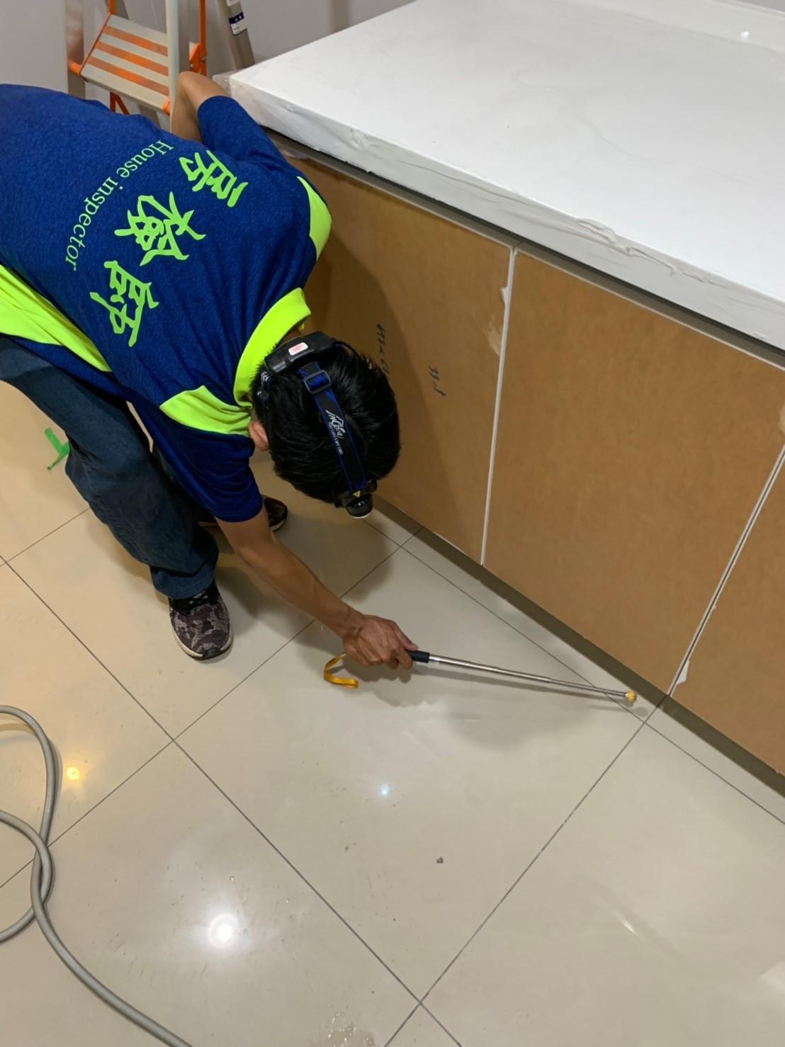 地坪磁磚施工品質檢查