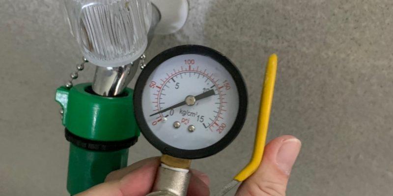 宏遠驗屋 水壓檢測
