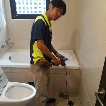浴室排水功能檢查
