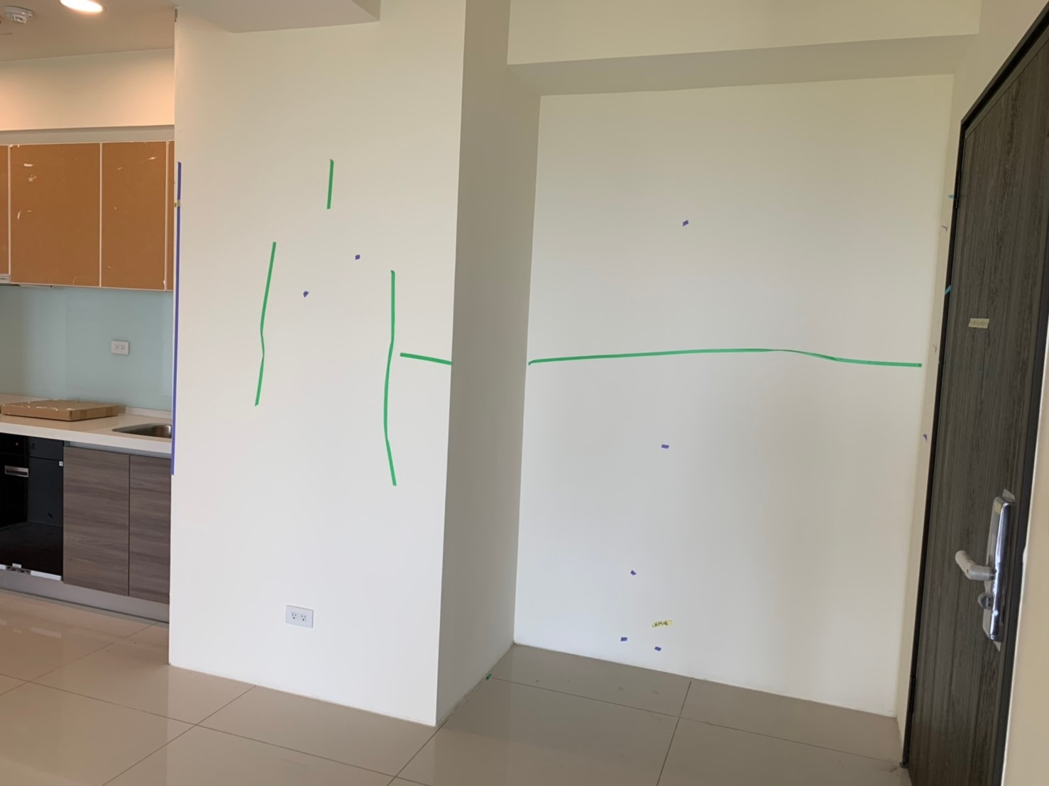 牆壁油漆施工品質檢查