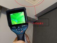 熱顯像儀偵測天花板漏水